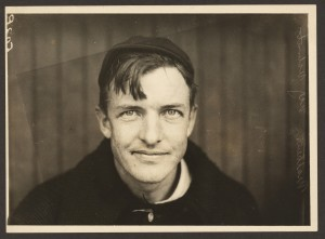 Christy Mathewson, Pitcher for the New York Giants Baseball Team