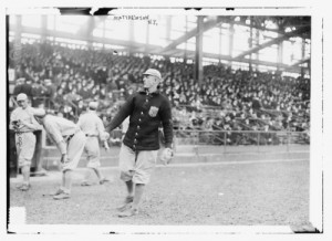 Christy Mathewson, 1914 (courtesy of the Library of Congress)