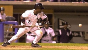 Ray Durham with the Chicago White Sox in 2000